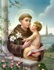 San Antonio de Padua. Pide a Jesús en tus brazos.