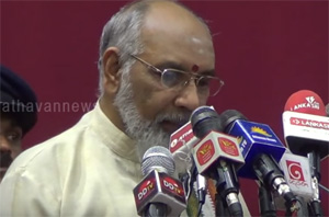 Activities of tamil people council's assisting for TNA : Vigneswaran