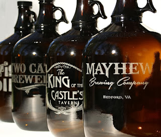 Etsy Scissor Mill Custom Beer Growler