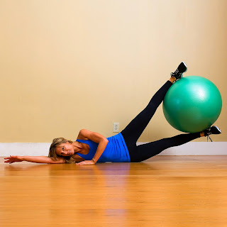 Ball Leg Lifts Move To Lose Inner Thigh Fat