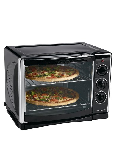 Countertop Oven Baking : Hamilton Beach 31197 Countertop Oven with Convection & Rotisseri