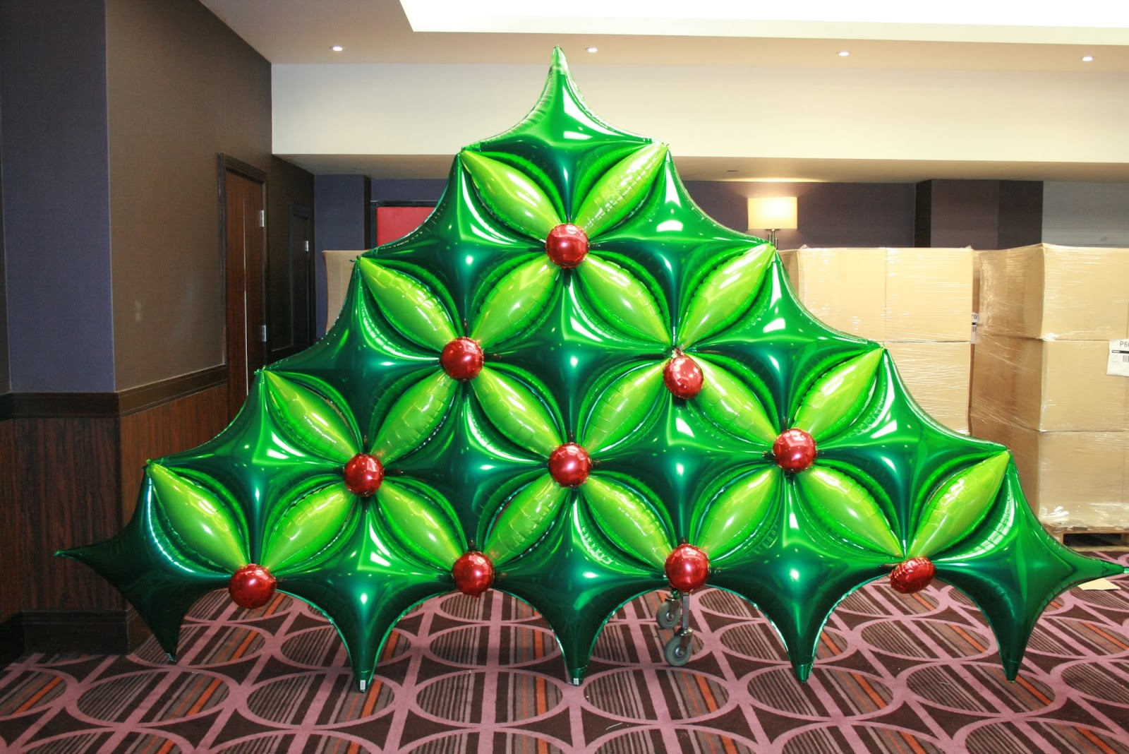 The very best balloon blog happy new year and welcome for Balloon decoration on wall