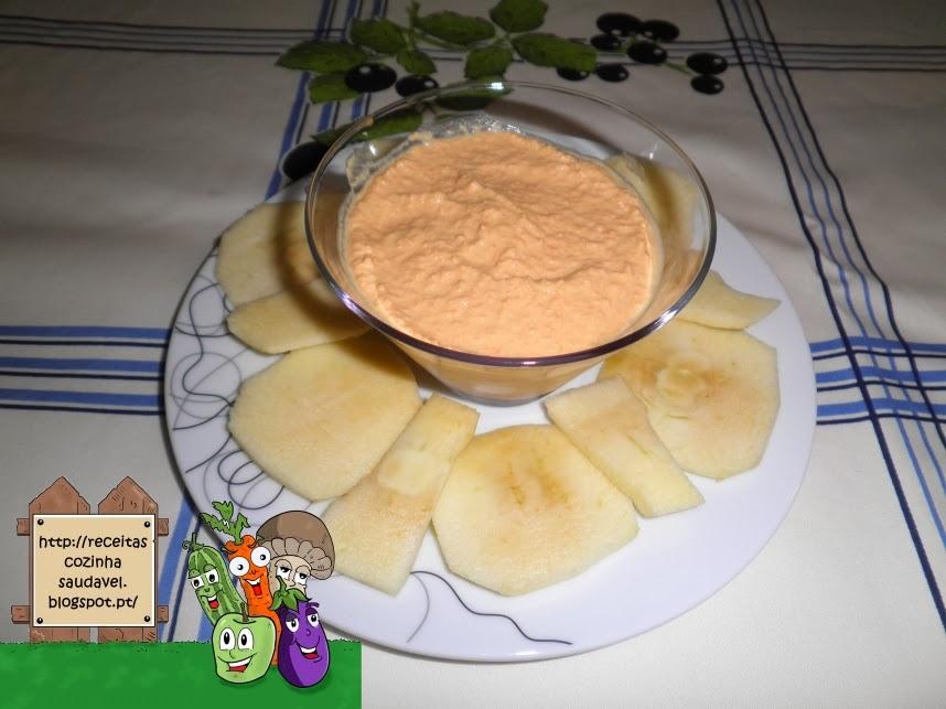 Paté de Atum e Cenoura