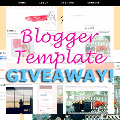 *VALENTINE* *GIVEAWAY* Win a Blog Design Template for Blogger!