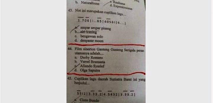 Nama Pemeran Sinetron Ganteng-ganteng Srigala masuk Ujian SD
