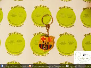 Llavero escudo FC Barcelona Futbol Club