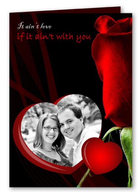 Personalized Valentines Day Cards