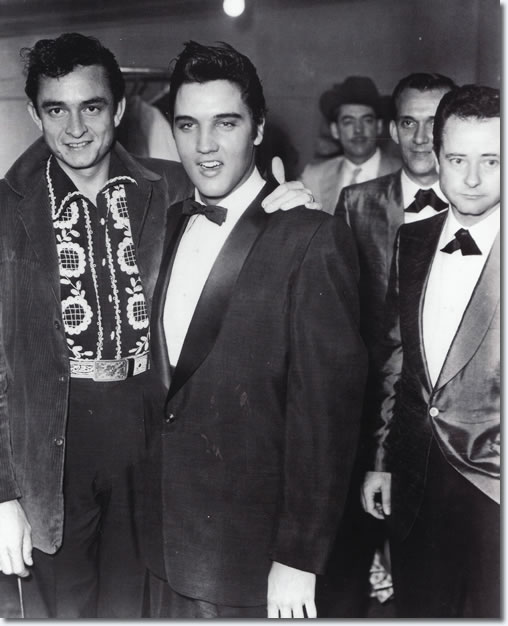 johnny cash and elvis presley relationship with mother
