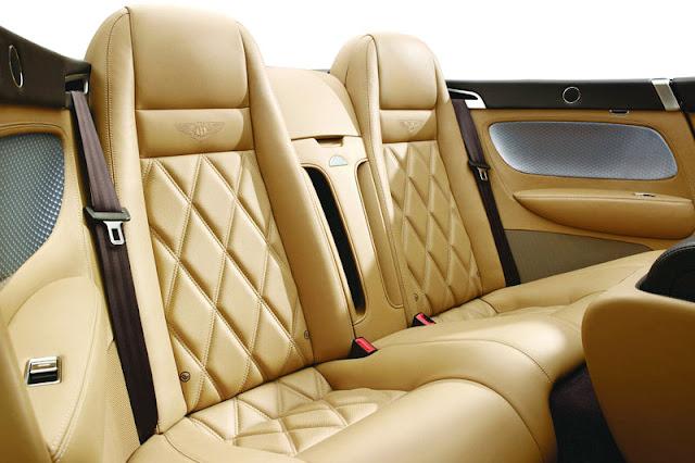 2010 Bentley Continental GTC Speed Back Interior