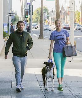 Kate Upton – Walks her dog at Beverly Hills