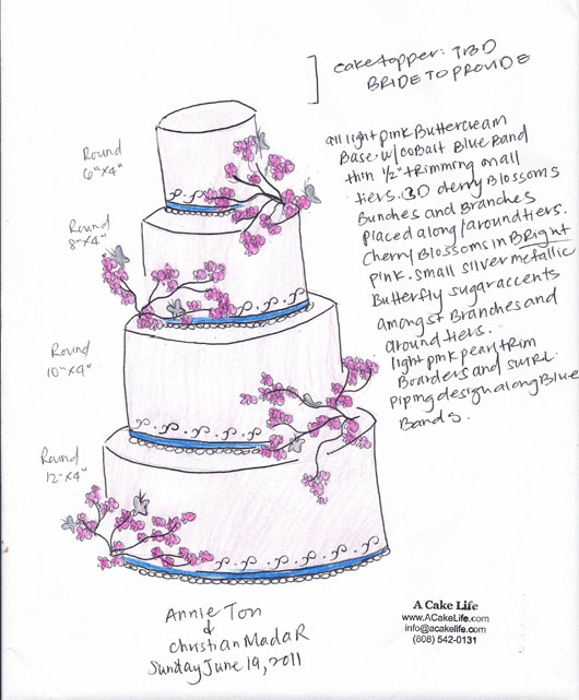 Here is one example of a cake