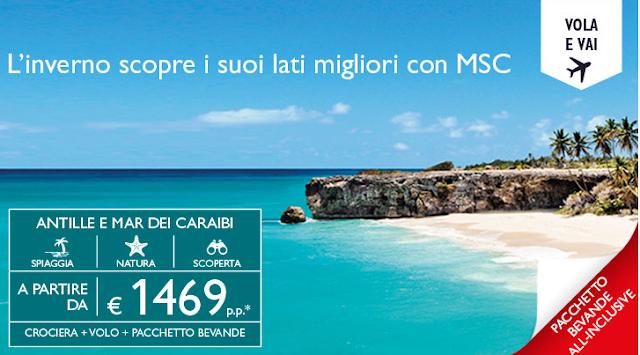 Pacchetto Crociera MSC Caraibi e Antille
