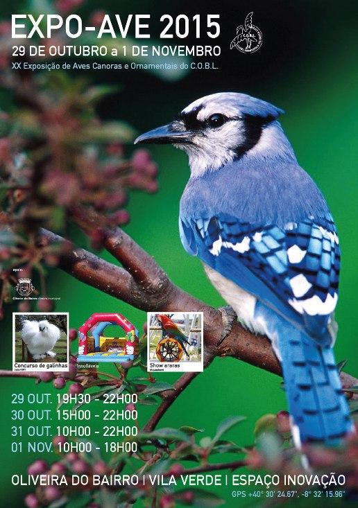 XX Expo Aves do Clube Ornitófilo da Beira Litoral