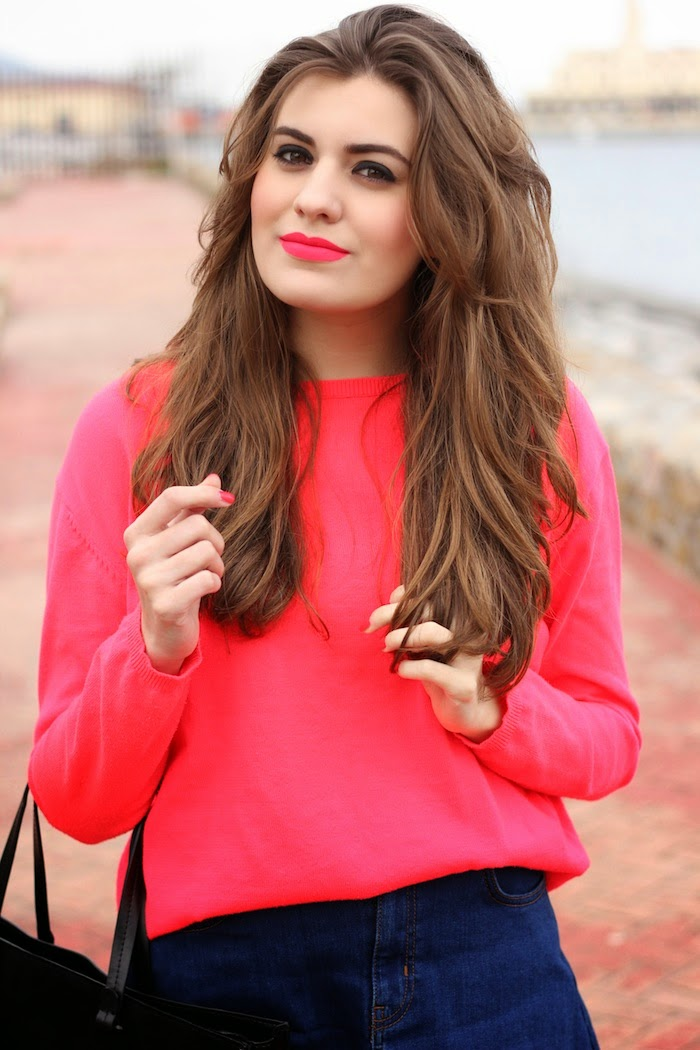 Matteme_sleek_labial_lipstick_pintalabios_brinkpink_tono_fluor_neon_fluorescente_look_outfit_angicupcakes04