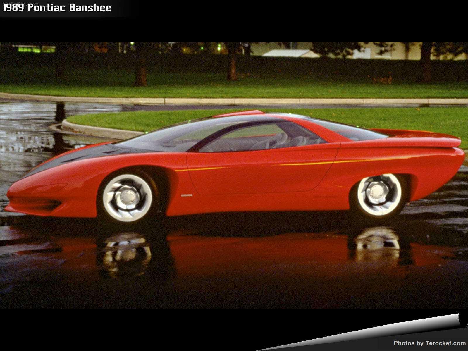 Hình ảnh xe ô tô Pontiac Banshee 1989 & nội ngoại thất