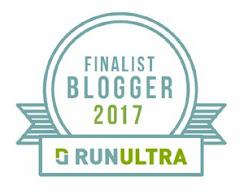 RunUltra UK blogger awards finalist 2017