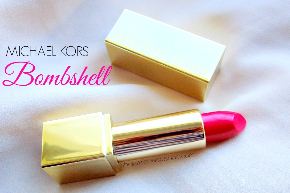 Michael Kors Sexy Lip Lacquer in 'Bombshell'