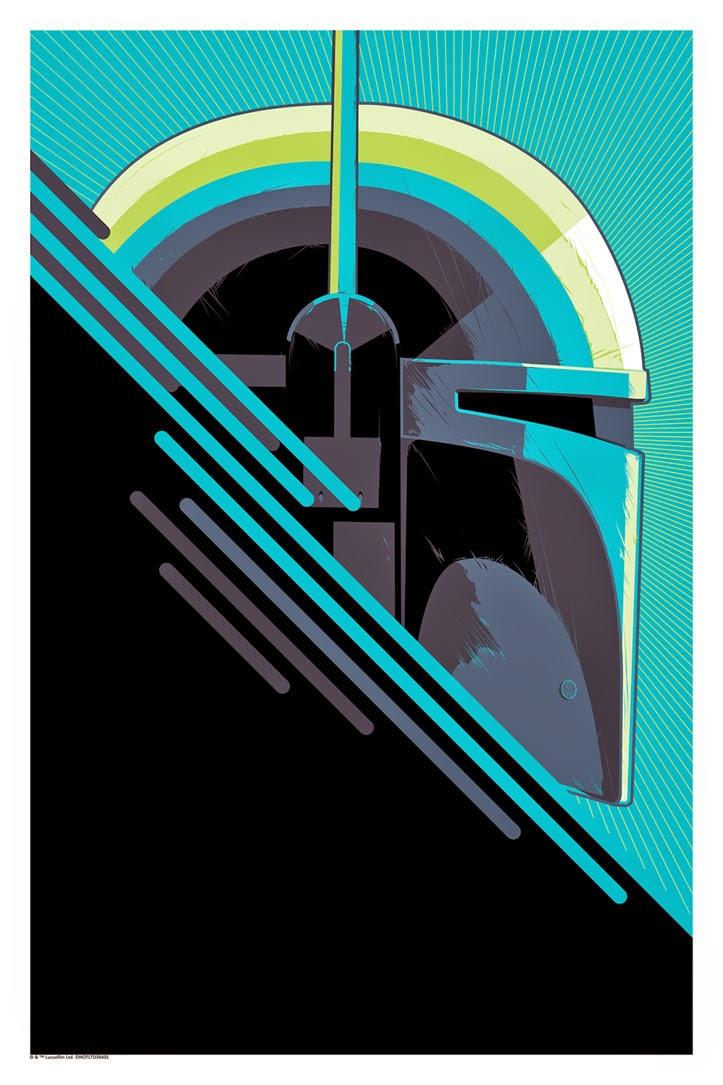 "Star Wars ""The Bounty Hunter"" Screen Print by Craig Drake"