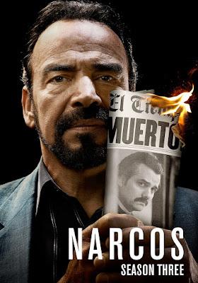 Narcos (TV Series) S03 DVD R1 NTSC Latino