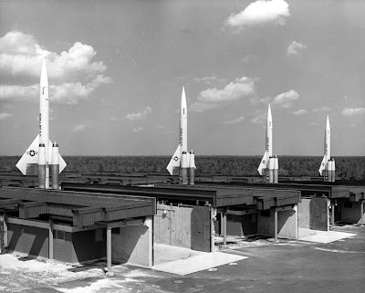 BOMARC missile battery, Cold War Era
