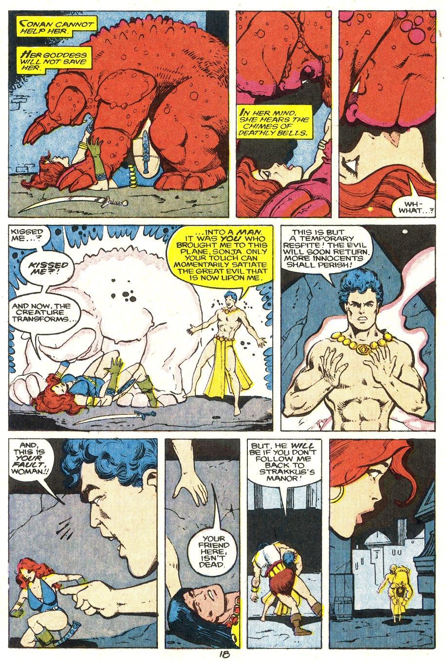 Conan the Barbarian (1970) Issue #204 #216 - English 19