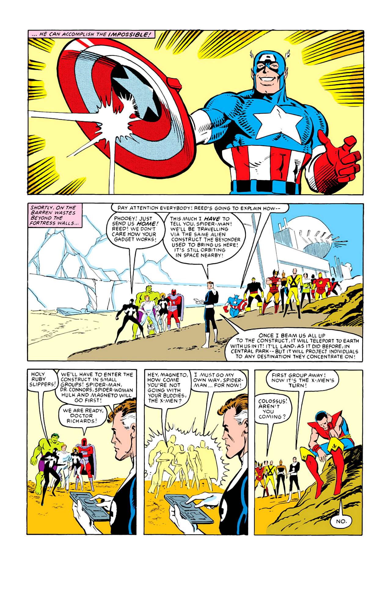 Captain America (1968) Issue #292m #220 - English 40