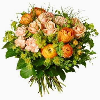 Nice flowers basket delivery in Sweden and price