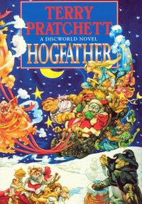 "Cover of ""Hogfather"", a novel by Terry Pratchett"