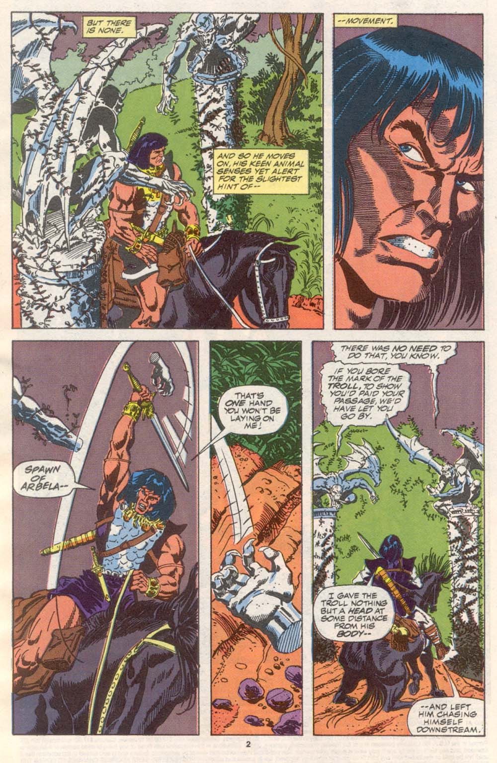 Conan the Barbarian (1970) Issue #242 #254 - English 3
