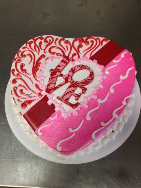 Heart Shaped Valentines Cake Images : Ontario Bakery: Valentine s Day Heart Shaped Cakes at ...