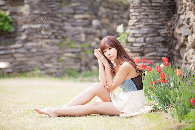 2 Cheon Bo Young Outdoor -Very cute asian girl - girlcute4u.blogspot.com