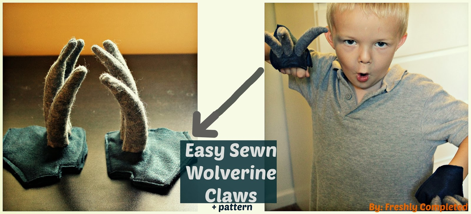 how to make your own wolverine claws