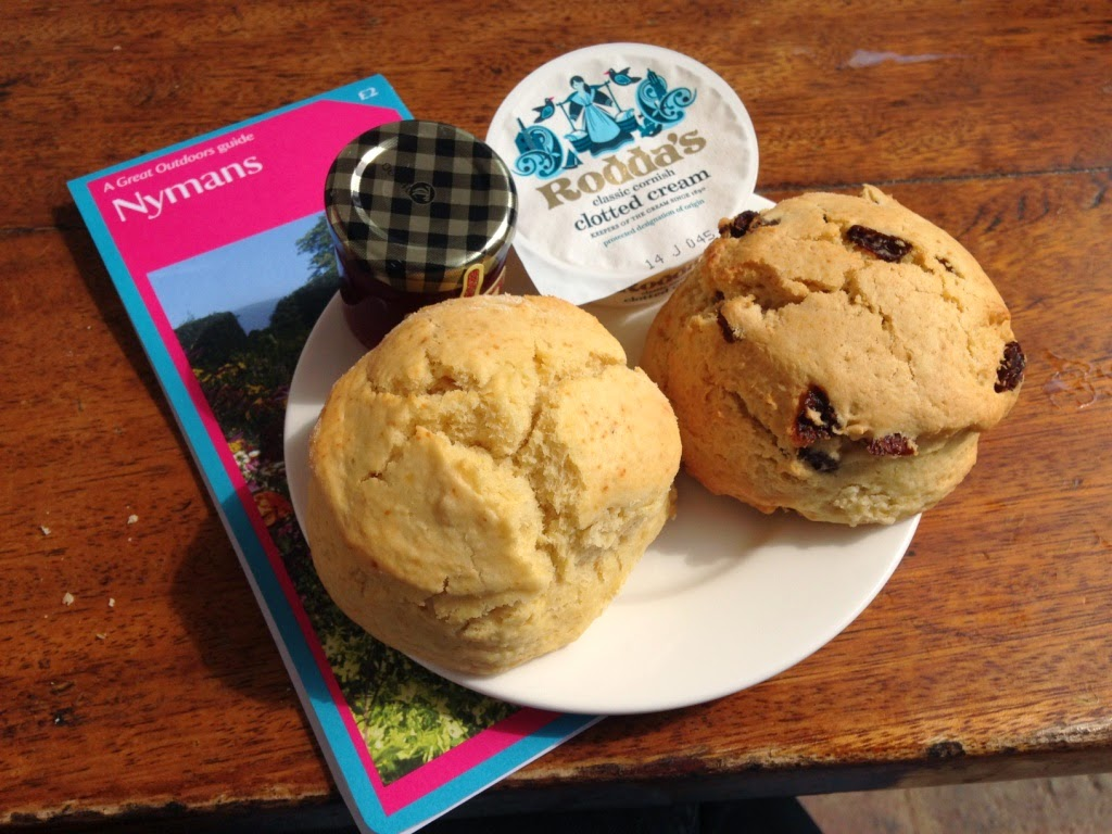 Nymans National Trust Scones