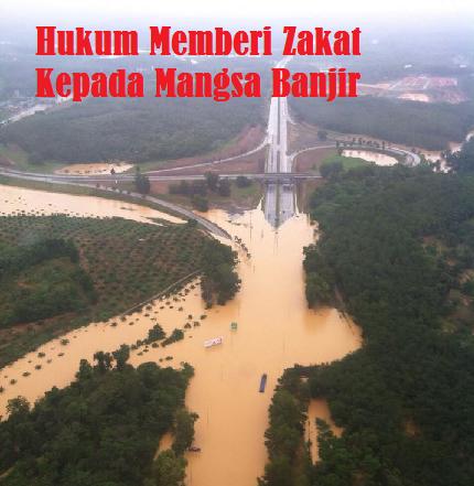 Zakat Kepada Mangsa Banjir