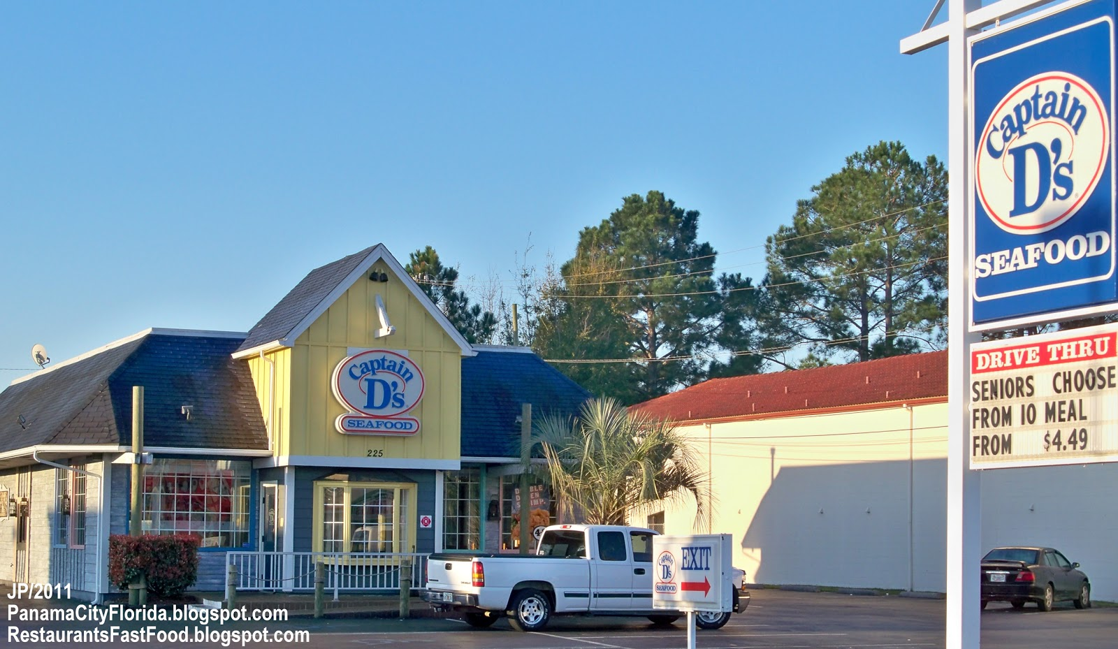 Drive Thru Restaurants In Panama City Florida