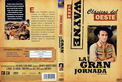 La gran jornada | 1930 | The Big Trail  | Caratula DvD