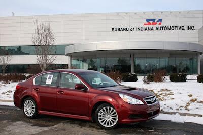 Subaru mulling new plant in U.S.