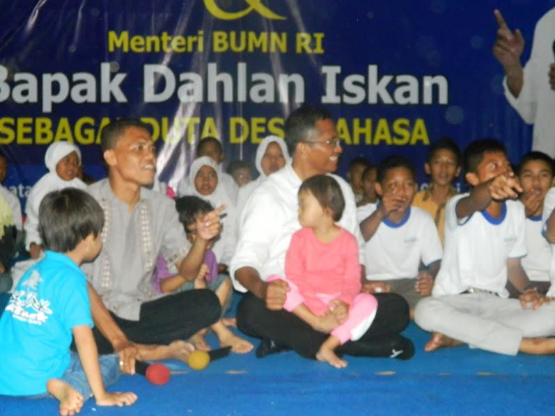 Menteri BUMN Dahlan Iskan kunjungi Desa Bahasa