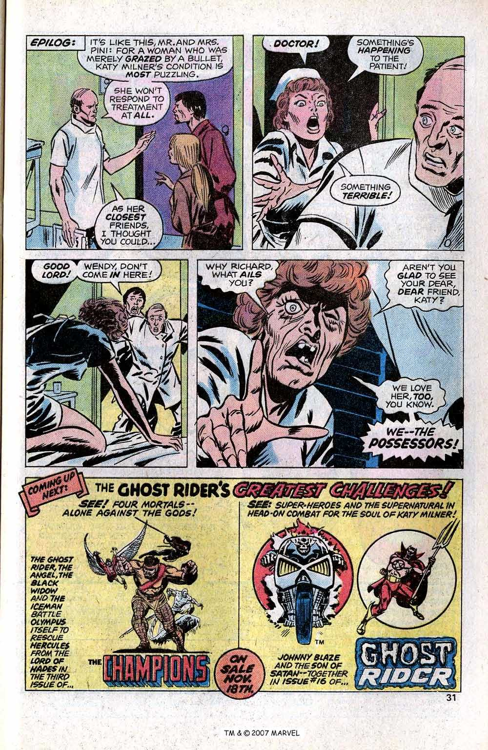 Ghost Rider (1973) Issue #15 #15 - English 33