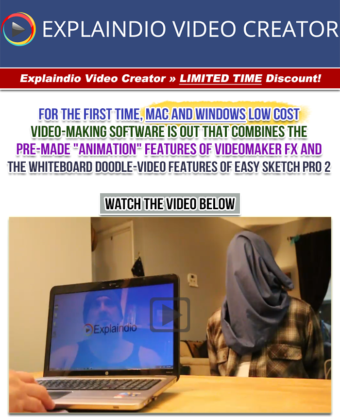 Sale Explaindio Video Creator Discount Mac And Pc Software Combines Videomaker Fx Easy Sketch Warrior Forum The 1 Digital Marketing Forum Marketplace