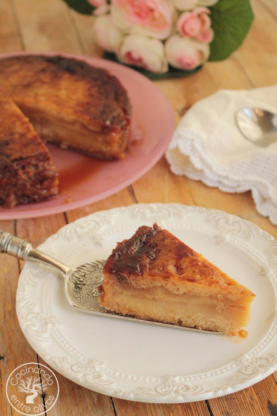 Cocinando entre olivos tarta de almendra y tocino de for Cocinando entre olivos