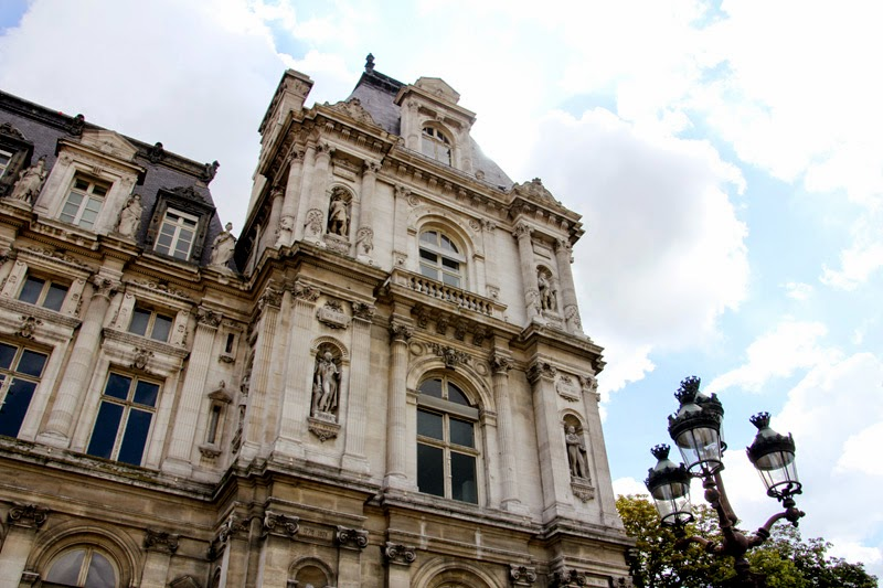 Paris : hôtel de ville