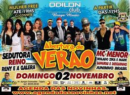 ABERTURA DE VERÃO - ODILON CLUB BREGA MUSIC.