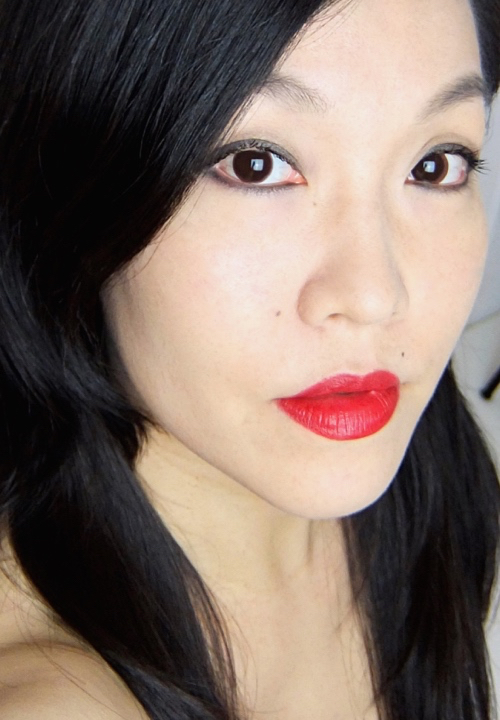 MAC Ruby Woo FOTD