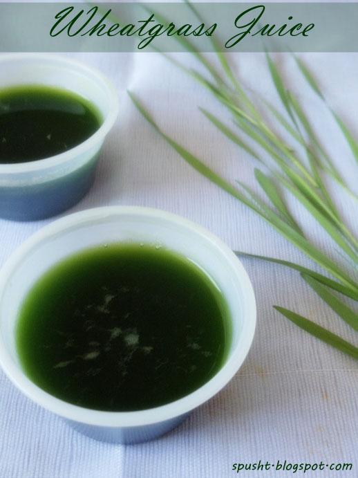 juicing wheatgrass at home