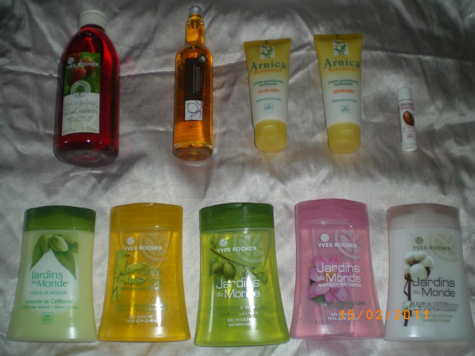 Подарки при покупке товаров в интернет-магазине Ив Роше 22