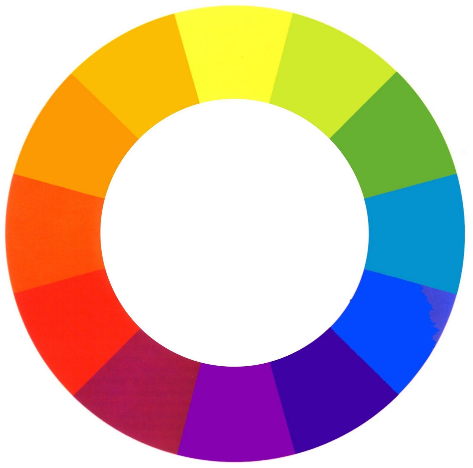 Bit cora de belleza combinar los colores - Circulo cromatico 12 colores ...