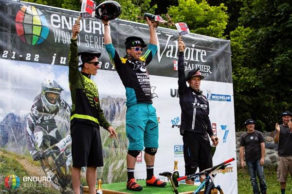 2014 Enduro World Series: Valloire, France - Results - Mens Podium