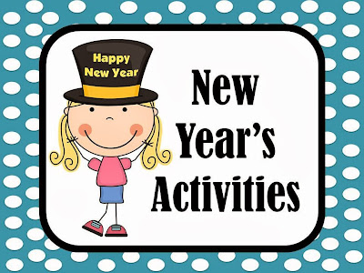 Fern Smith's New Years Activities for Elementary School Teachers. Classroom Activities, Lessons, Assessments, Activities, PowerPoints, Units and Interactive Notebook Activities and Center Games.