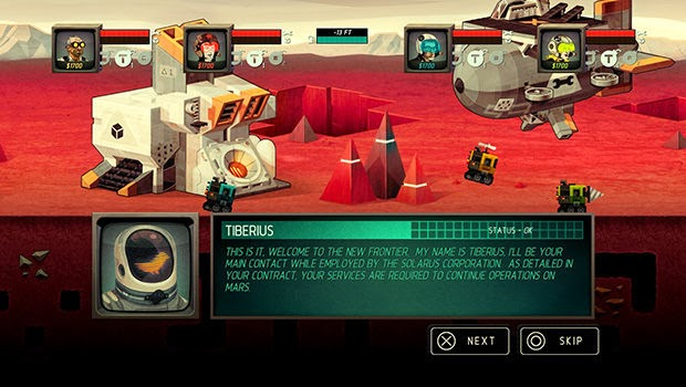 Super-Motherload-Playstation-4-Beneath-The-Red-Planet-Review